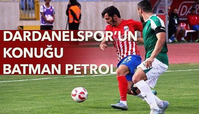Dardanelspor'un konuğu Batman Petrol