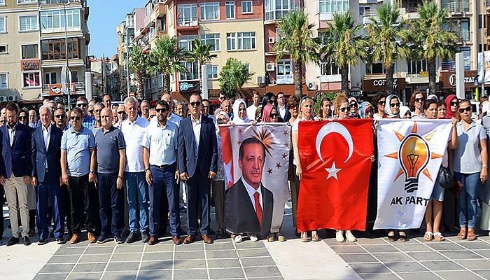 AK Parti'nin 16'ncı kuruluş yıl dönümü Çanakkale'de kutlandı (VİDEO)
