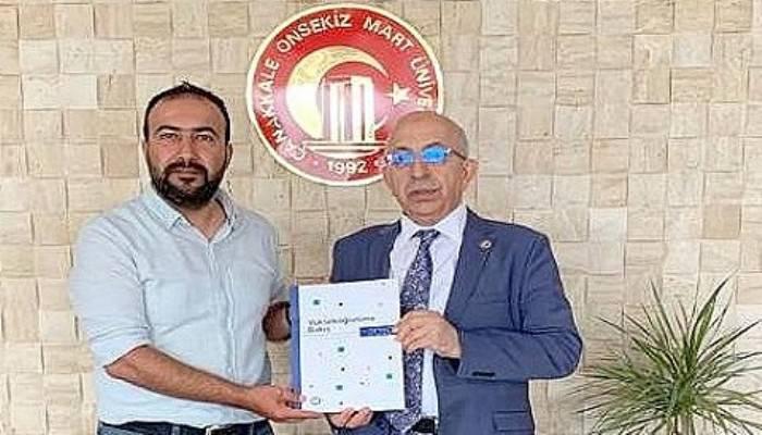 Rapor Rektör Sedat Murat'a Verildi