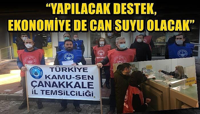 Cumhurbaşkanı Erdoğan ile Hazine ve Maliye Bakanı Elvan'a mektup gönderdiler