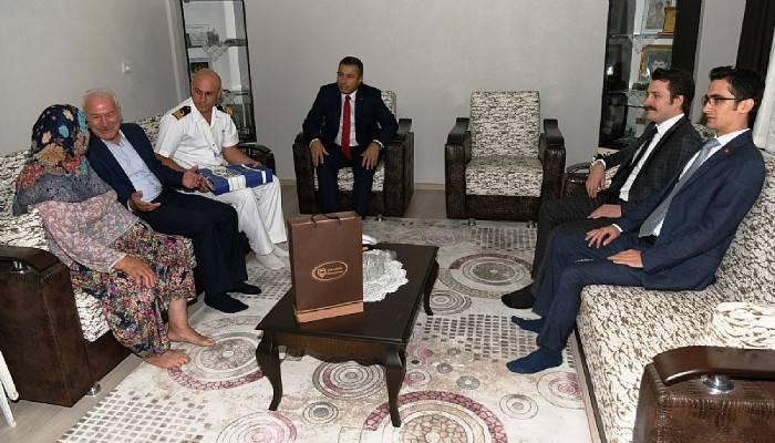 15 Temmuz etkinlikleri kapsamında şehit ailesi ziyareti.