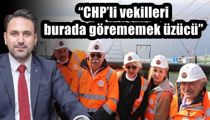 'CHP'li vekilleri burada görememek üzücü'