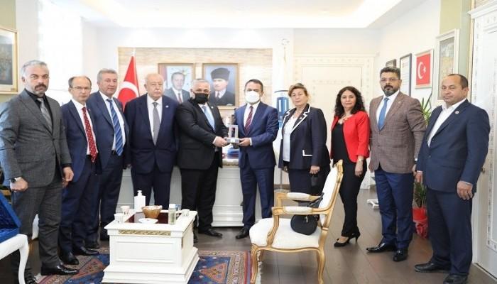 Türkiye Muhtarları Vali Aktaş'a Konuk Oldu