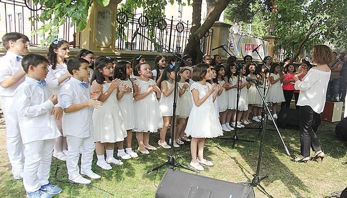 Çocuk kültür evi yılsonu buluşması büyüledi