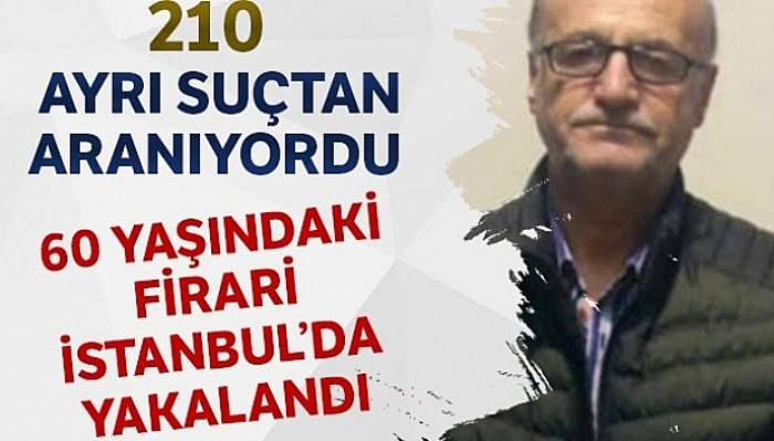 Bayrampaşa'da 210 suçtan aranan firari yakalandı