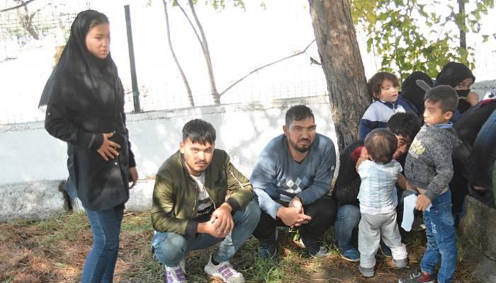 Çanakkale'de 190 mülteci yakalandı (VİDEO)