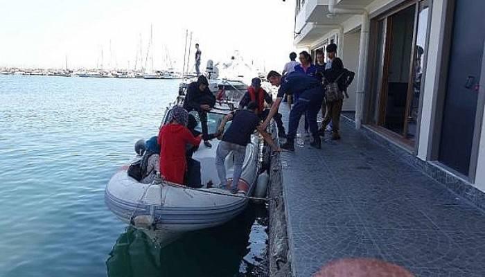 Çanakkale'de 127 kaçak göçmen yakalandı