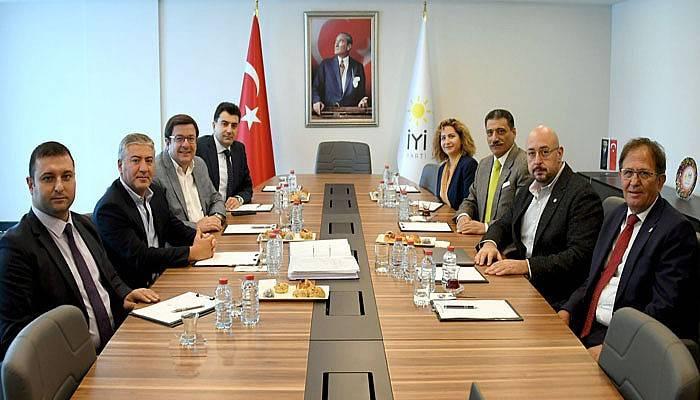 CHP ve İYİ PARTİ Heyetleri Bir Araya Geldi