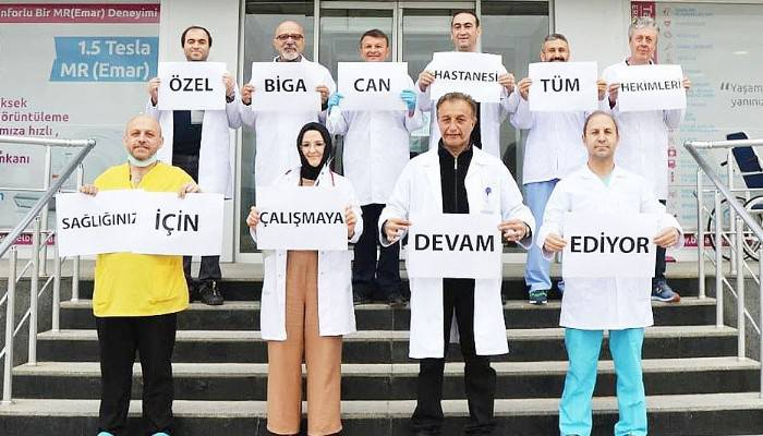"""""""SAĞLIĞINIZ İÇİN ÇALIŞMAYA DEVAM EDİYORUZ"""""""