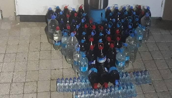 370,5 litre sahte içki ele geçirildi