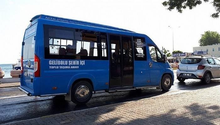 Gelibolu'da Şehir İçi Minibüsler, Engellilere De Ücretsiz Oldu