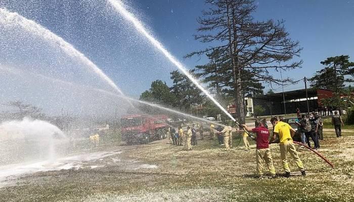 Orman yangınları ile mücadele hazırlıkları devam ediyor