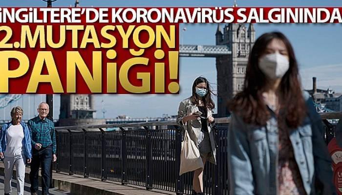 İngiltere'de korona virüs salgınında 2. mutasyon paniği