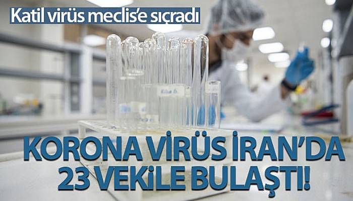 İran'da 23 milletvekili korona virüsüne yakalandı