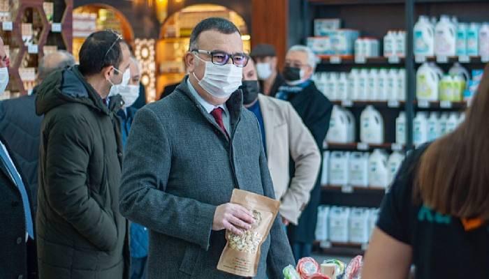 Gurme mağazası Kavruz Kepez'de açıldı