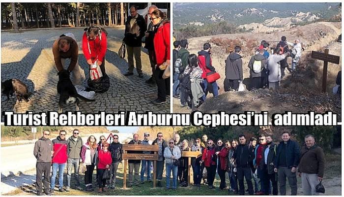 Turist Rehberleri Arıburnu Cephesi'ni adımladı