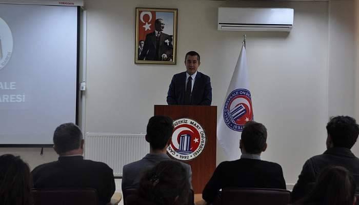 Aksoy, öğrencilere 'Kamu Yönetimi'ni anlattı