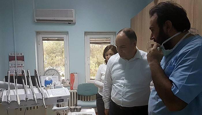 Yeşildağ'dan, Gökçeada Devlet Hastanesi'ne Ziyaret