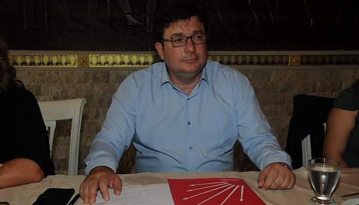 """CHP'li Muharrem Erkek: """"Basının anayasada 4'üncü bir güç olarak yer alması için teklifte bulunacağız"""""""
