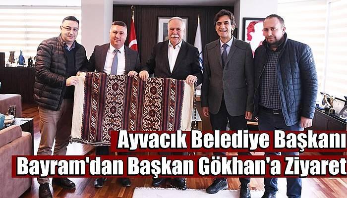 Ayvacık Belediye Başkanı Bayram'dan Başkan Gökhan'a Ziyaret