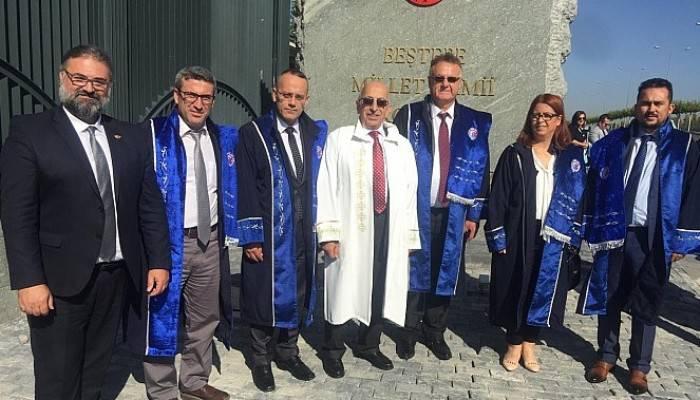 Rektör Murat ve Beraberindeki ÇOMÜ Heyeti, 2019-2020 Yükseköğretim Akademik Yılı Açılış Töreni'ne Katıldı
