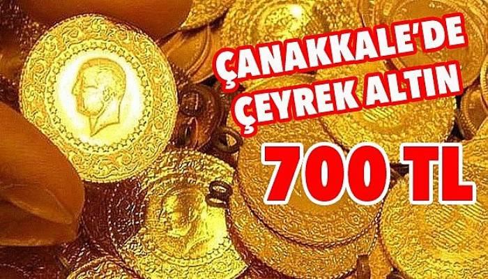 Çeyrek altın 700 TL oldu!
