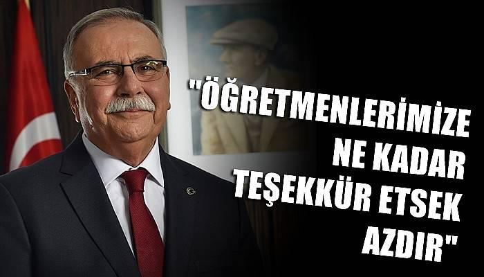 Belediye Başkanı Gökhan'ın 24 Kasım Öğretmenler Günü mesajı