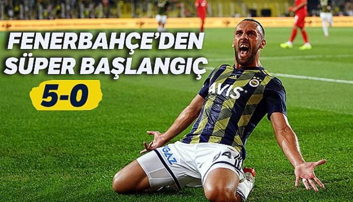 Fenerbahçe'den lige süper başlangıç