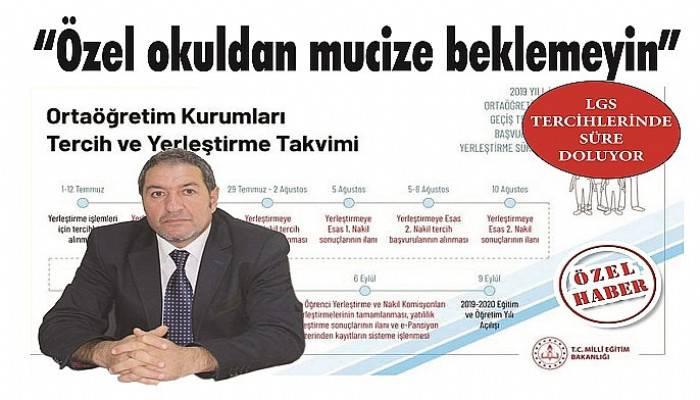 LGS TERCİHLERİNDE SÜRE DOLUYOR
