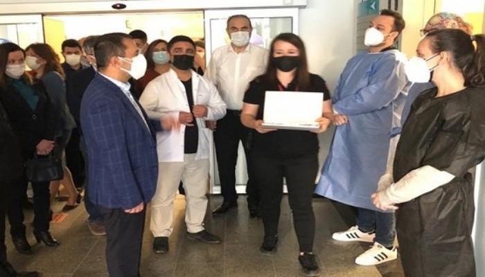 Sağlık Çalışanlarına Bayram Ziyareti