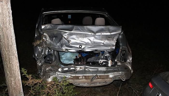 Gümüşçay Yolunda Meydana Gelen Kazada 3 Kişi Yaralandı