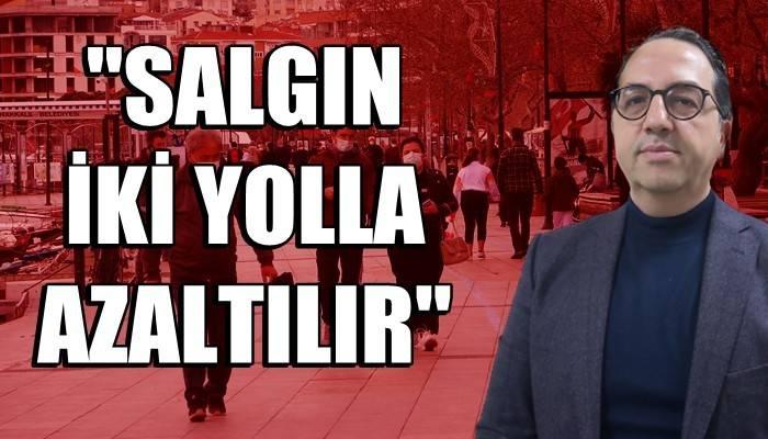 Prof. Dr. Şener: 'Türkiye koronavirüste 3'üncü dalganın içinde' (VİDEO)