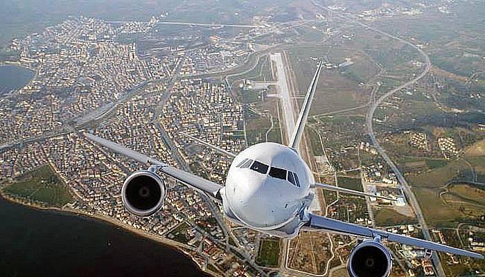 Çanakkale'de uçan yolcu sayısı arttı