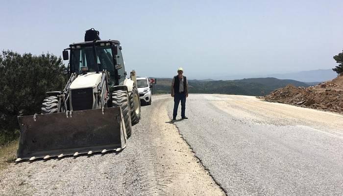 Tuzla Yoluna 10 Km Beton Yol Yapılacak