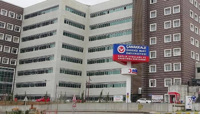 ÇOMÜ Hastanesine 87 sözleşmeli personel alınacak