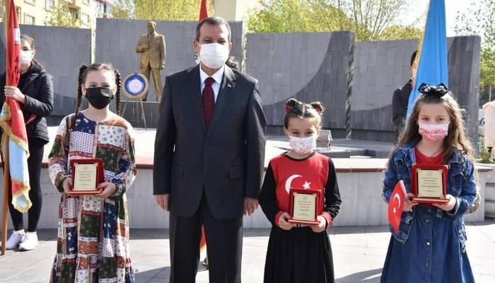 Çanakkale Çan'da 23 Nisan kutlaması