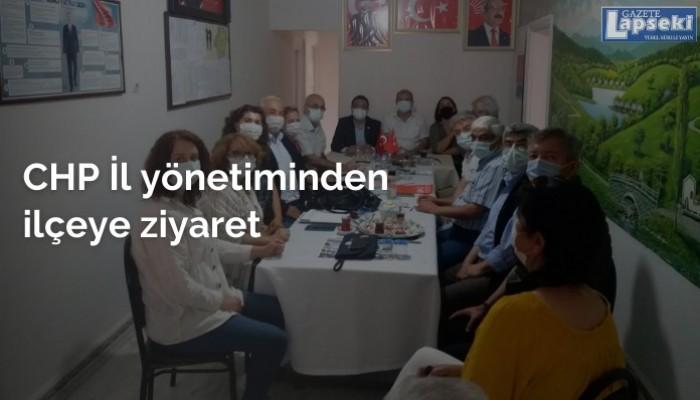 CHP İl yönetiminden ilçeye ziyaret