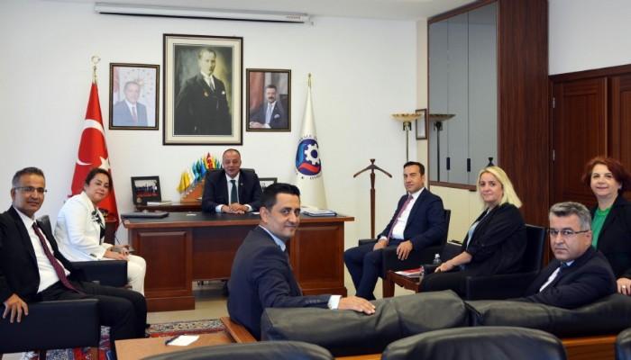 Ziraat Bankası Yetkilileri ÇTSO'yu ziyaret Etti