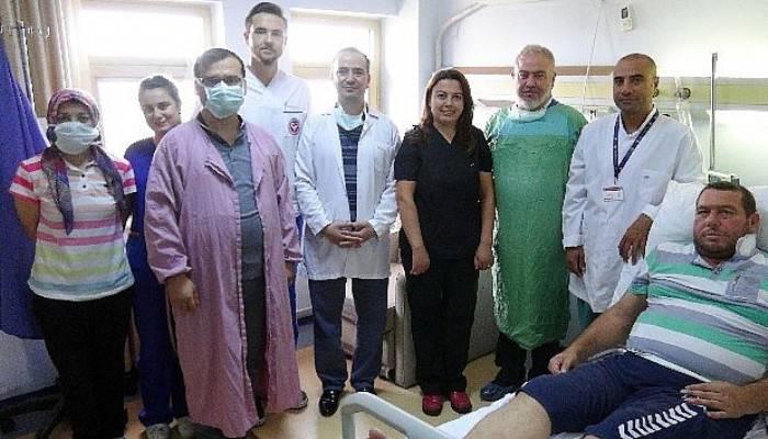 Nakil bekleyen hastanın rüyası gerçek oldu (VİDEO)