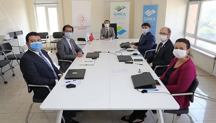 Aktaş, Güney Marmara Kalkınma Ajansı'nın yatırım ve projeleri hakkında brifing aldı