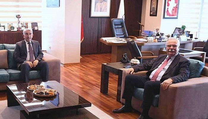 Başkan Gökhan'a İade-i Ziyaret