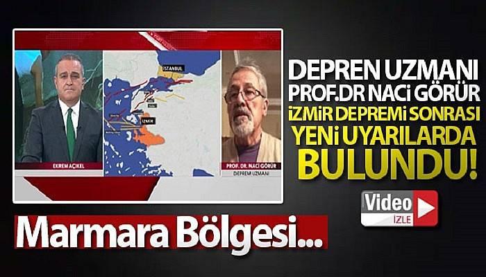 Deprem uzmanı Prof. Dr.Naci Görür İzmir depremi sonrası yeni uyarılarda bulundu! (VİDEO)
