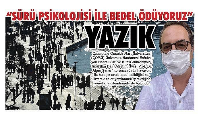 'SÜRÜ PSİKOLOJİSİ İLE BEDEL ÖDÜYORUZ'