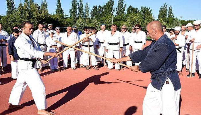 Aikido yaparak egolarını yeniyorlar (VİDEO)