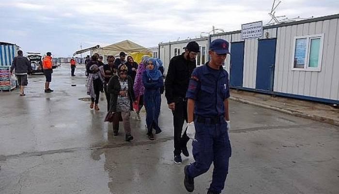 Çanakkale'de 31 kaçak yakalandı (VİDEO)
