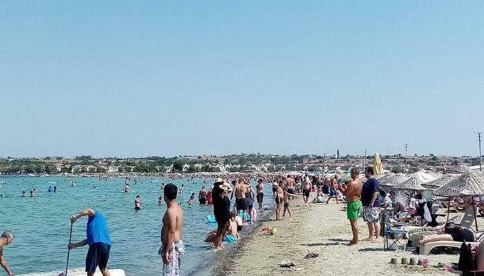 Gelibolu Plajı Antalya'yı aratmadı