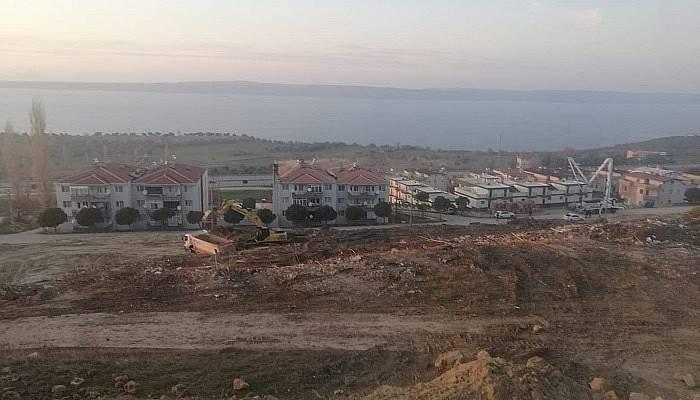 TOKİ İntepe'de çalışmalar başladı