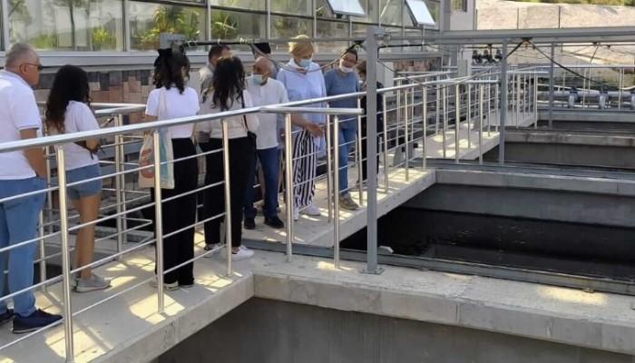Gürcistan Heyeti Arıtma Tesisinde İncelemelerde Bulundu