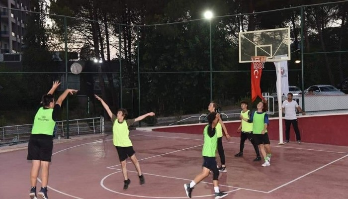 Çan'da Streetball Turnuvası başladı