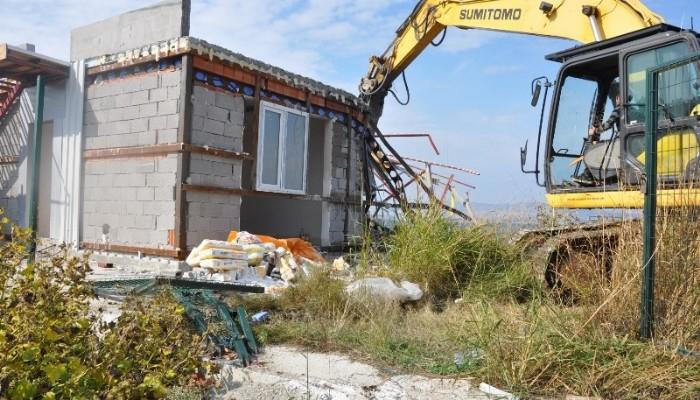Kaçak yapılar yıkılıyor!
